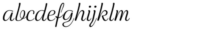 Rigaer Tango Swash Light Font LOWERCASE