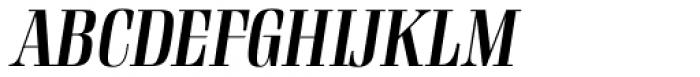 Rigatoni Bold Italic Font UPPERCASE
