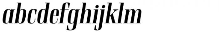 Rigatoni Bold Italic Font LOWERCASE