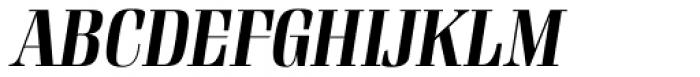 Rigatoni Extra Bold Italic Font UPPERCASE