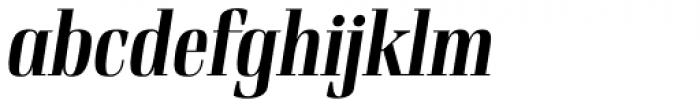 Rigatoni Extra Bold Italic Font LOWERCASE