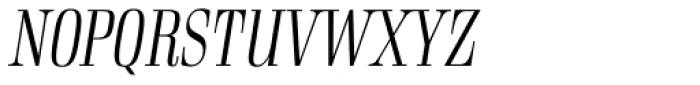 Rigatoni Light Italic Font UPPERCASE