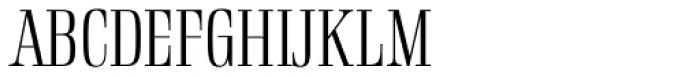 Rigatoni Light Font UPPERCASE