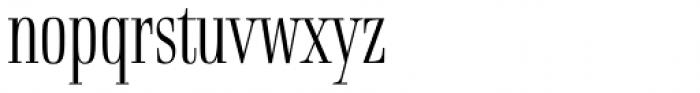 Rigatoni Light Font LOWERCASE