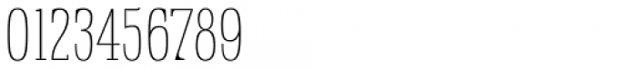 Rigatoni Thin Font OTHER CHARS