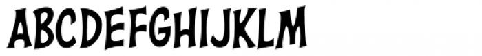 Right In The Kisser Regular Font UPPERCASE