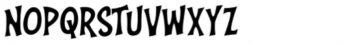 Right In The Kisser Regular Font LOWERCASE
