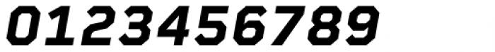 Rigid Square Bold Italic Font OTHER CHARS