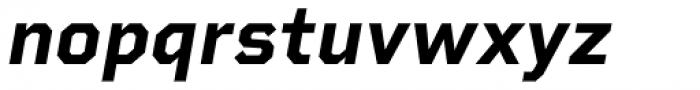 Rigid Square Bold Italic Font LOWERCASE