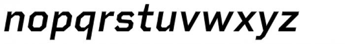 Rigid Square Semi Bold Italic Font LOWERCASE