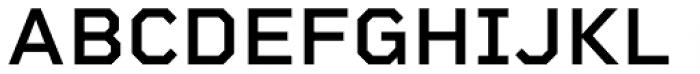 Rigid Square Semi Bold Font UPPERCASE
