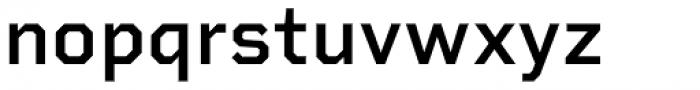 Rigid Square Semi Bold Font LOWERCASE