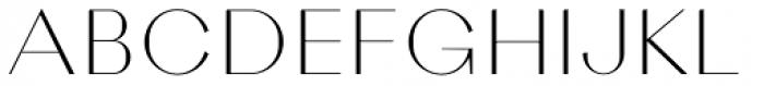 Rigidica Display Thin Font UPPERCASE