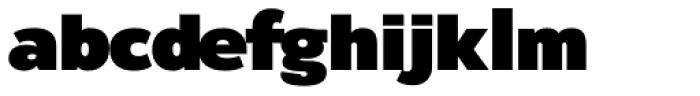 Rigo Black Font LOWERCASE