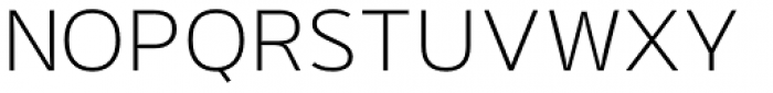 Rigo Light Font UPPERCASE