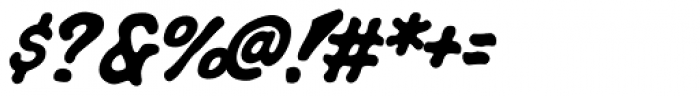 Rigor Mortis Bold Italic Font OTHER CHARS