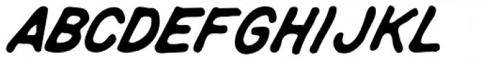 Rigor Mortis Bold Italic Font LOWERCASE