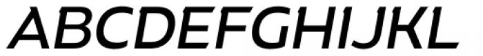 Rigrok Medium Italic Font UPPERCASE