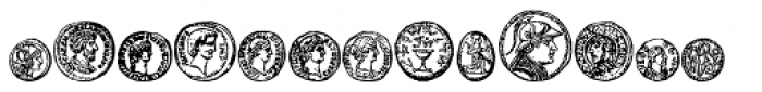 Riipale Coin Font UPPERCASE