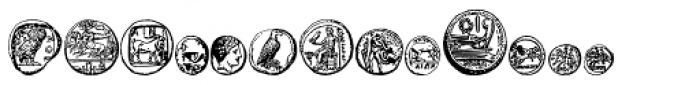 Riipale Coin Font LOWERCASE