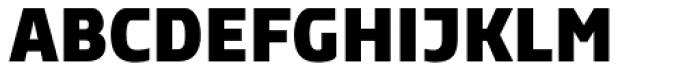 Rikon Black Font UPPERCASE