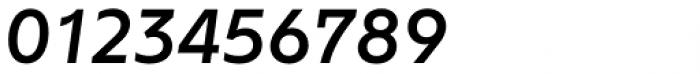Rileno Sans Medium Italic Font OTHER CHARS