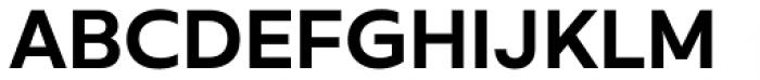 Rileno Sans Semi Bold Font UPPERCASE