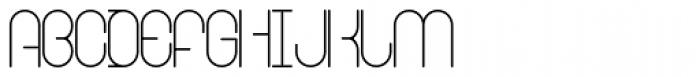 Ringer Light Font UPPERCASE