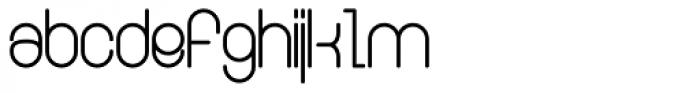 Ringer Font LOWERCASE