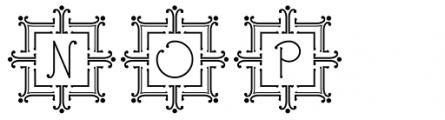 Ringlings Deco Caps Font UPPERCASE