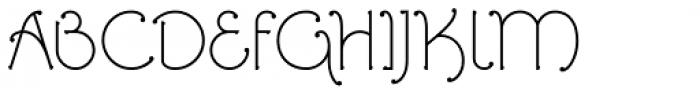 Ringlings Regular Font UPPERCASE