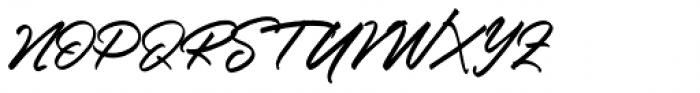 Ringtown Regular Font UPPERCASE