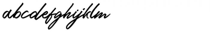 Ringtown Regular Font LOWERCASE