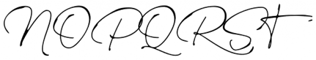 Rinstonia Font UPPERCASE
