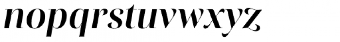 Rion Bold Italic Font LOWERCASE