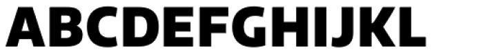 Riona Sans Black Font UPPERCASE