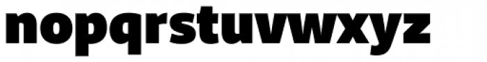 Riona Sans ExtraBlack Font LOWERCASE