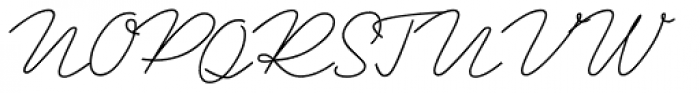 Ripley Light Font UPPERCASE