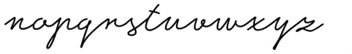 Ripley Font LOWERCASE