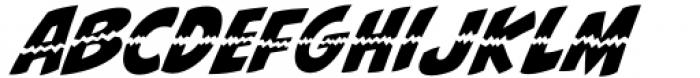 Ripped Bam Boom Regular Font LOWERCASE