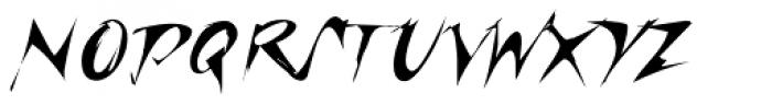 Riptide Font UPPERCASE