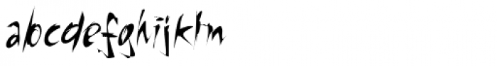 Riptide Font LOWERCASE