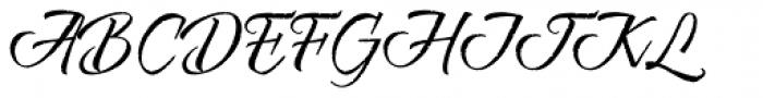 Risotto Script Pro Font UPPERCASE