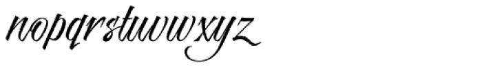 Risotto Script Pro Font LOWERCASE