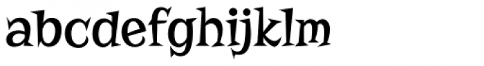 Risque Pro Font LOWERCASE