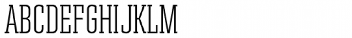 Ristretto Slab Pro Light Font UPPERCASE