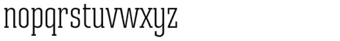 Ristretto Slab Pro Light Font LOWERCASE