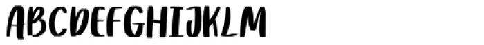 Rither Regular Font UPPERCASE