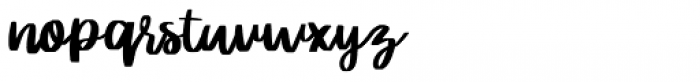 Rither Regular Font LOWERCASE