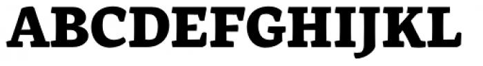Rival Black Font UPPERCASE